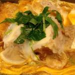 田むら 銀かつ亭 - 豆腐かつ煮