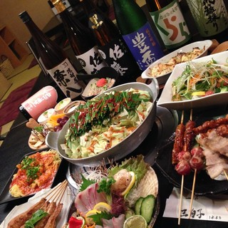 「黒毛和牛もつ鍋」「宮崎あじ豚鍋」開店から30年愛されてます
