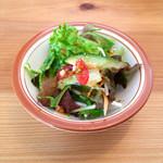 MOKU cafe - ランチのサラダ