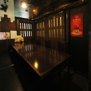 プライベートな個室空間で宴会ご利用できます!