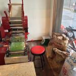 永太 - 製麺室(2014年5月)