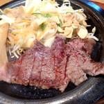 和牛処 助春 - ミンチカツ&助春ステーキセット1,800円(税込)