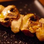 76vin - 鶏ささみとマッシュルーム 白トリュフオイルがけ