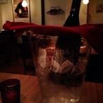 タベルナ バルバ - イタリアのビール@初めて飲みました。さわやか!