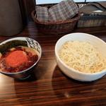 麺処 井の庄 - 辛辛魚つけめん920円