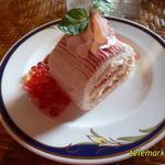 おかみの紅茶 - 料理写真:森の温泉sweets「ブラン・ルージュ」(735円)