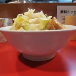 鳳 - 普通盛(1枚) 麺量240g 750円