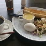 グリーンハウス - Cモーニング エッグトーストセット