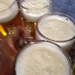 27079105 - タカシマヤ屋上 アサヒビアガーデンの生ビール(14.05)