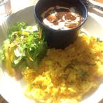 cafe tuoli - 鹿肉カレー