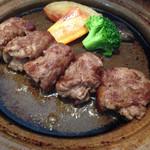萬寿野 - 陶板焼き