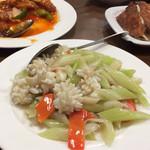 27083152 - 酢豚、イカセロリ、餃子