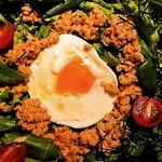 黒桃 - 納豆とオクラのネバトロサラダ