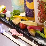 黒桃 - 旬野菜の味噌バーニャカウダー