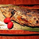 黒桃 - 炉端焼き!!本日の焼き魚