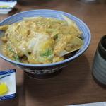 山田屋 - カツ丼ねぎ入り