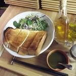 Maisai - Maisaiトースト サラダ付 ¥480