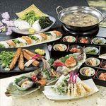 魚がし日本一 - 魚がしコース