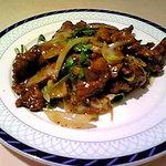 2709688 - 牛肉と香菜の黒胡椒炒め