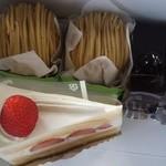 27092910 - ショートケーキ・和栗のモンブラン・サッシャードール