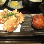 27093358 - 塩から揚げと三瀬鶏つみれ(2012.2)