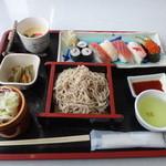 レストラン和家 - 寿しセット1000円