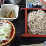 レストラン和家 - 蕎麦と蕗の煮物