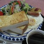 五竜ドライブステイション - 料理写真:モーニングセット500円