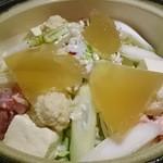 糀や仁太郎 - 青葉コース:糀コラーゲン鶏鍋