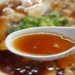 中華そば 光洋軒 - チャーシュー麺 スープ