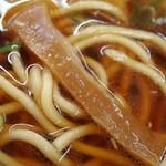 中華そば 光洋軒 - チャーシュー麺 メンマ
