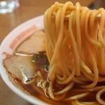 中華そば 住吉 - チャーシューメン 麺