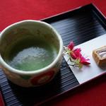 観瀾亭 - 抹茶と松島