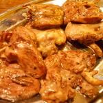 とりビアー - ハツ焼き