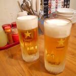 げんかや - 生ビール