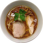 麺創研かなで・改 - 比内地鶏づくしの中華そば(2013年正月限定)
