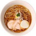 麺創研かなで・改 - 冷やし煮干ラーメン(2013年夏期限定)