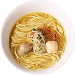麺創研かなで・改 - 塩煮干らーめん(2013年4月限定)