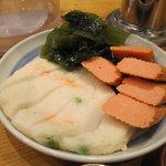 うどん 丸香 - 天ぷら盛り合わせ
