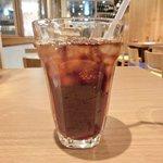 27101642 - ギガスのオーシャンドリア<限定20食> 1000円 のアイスコーヒー