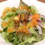 27101691 - ギガスのオーシャンドリア<限定20食> 1000円 のサラダ