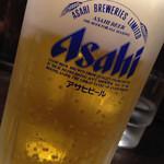 おはな商店 - 喉の潤しに、ビール