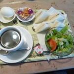 ヒロミ - 料理写真:2014.05 サンドかトーストができるって言われたのでサンドで♪