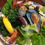 ソレイユ - 料理写真:サラダ
