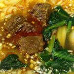 27107232 - 牛肉刀削麺