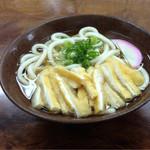 一汁一菜 - きざみうどん(350円)