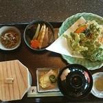 湯夢プラザ お食事処 - 山菜の天婦羅定食❗ ふきのとうの天婦羅旨いよ❗