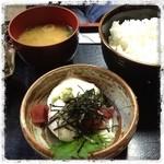 有魚亭 - 山かけ定食 ¥1575