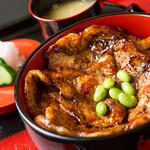 豚飼い屋 十勝の豚丼 - 料理写真:十勝産ケンボローロースを使用した、飽きのこない美味しい豚丼!