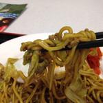 西仙北SA レストラン上線 - 麺はこんな感じ